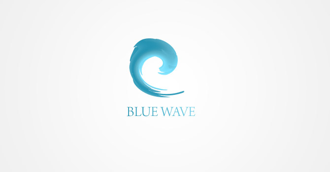 logotypes - Blue Wave